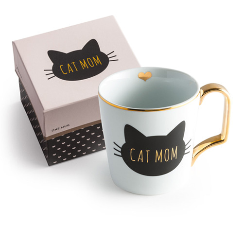 [로잔나] All You Need Is Love Mug Cat Mom