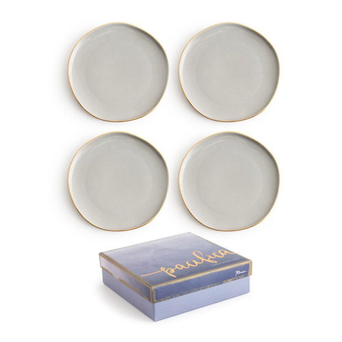[로잔나] Pacifica Plate Gray 4pcs/set
