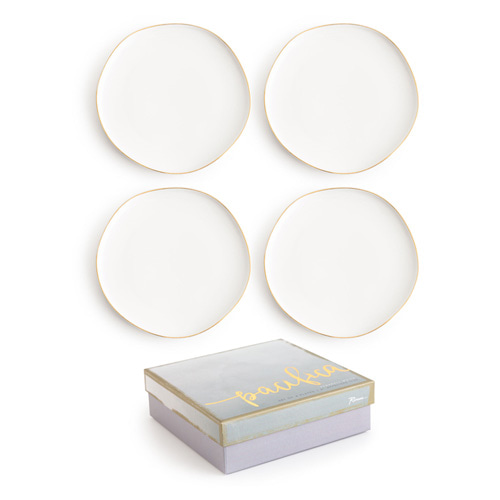 [로잔나] Pacifica Plate White 4pcs/set